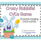 Crazy Rabbits! A CVCe Game