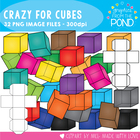 Crazy for Cubes - Graphics From the Pond