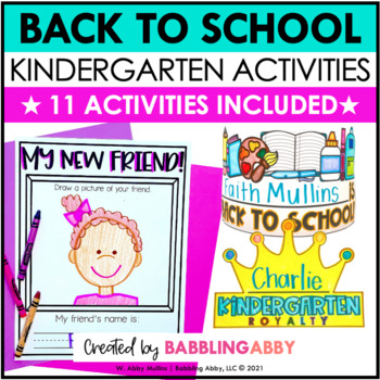 Crazy for Kinders! {Back to School for Kindergarten}