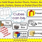 Create Solid Shape Anchor Charts, Posters, BB, Centers, Ga