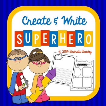 Create & Write! Superhero!