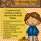 Create Your Own Fall Paragraph or Essay Creative Writing