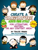 Create a Caricature Literature or History Activity South P