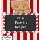 Create a Class Cookbook