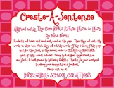 Create a Sentence  - Aligned with The Core