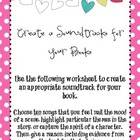 Create a Soundtrack for Your Book Activity