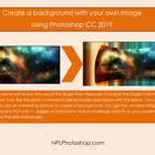 Create a background image with Photoshop CS3, CS4, and CS5