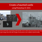 Haunted castle with Photoshop CS3/CS4 or CS5/CS6 - 2 sets