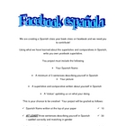 Create your own Spanish facebook