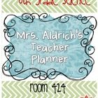Create your own Teacher Planner or Binder