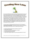 Creating Laws Assignment