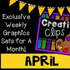 Creative Clips Club April {Creative Clips Digital Clipart}