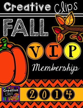 Creative Clips FALL VIP Membership {Creative Clips Digital Clipart}
