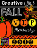 Creative Clips FALL VIP Membership {Creative Clips Digital