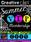 Creative Clips Summer VIP Membership {Creative Clips Digit