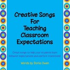 Creative Songs for Teaching Classroom Expectations