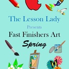 Creative Thinking Fast &amp; Early Finishers Art Activities fo