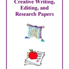 Creative Writing, Editing and Research Activities