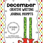 Creative Writing Journal Prompts for December