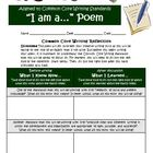 Creative Writing Poetry Lesson Activity Resource (I Am a...)
