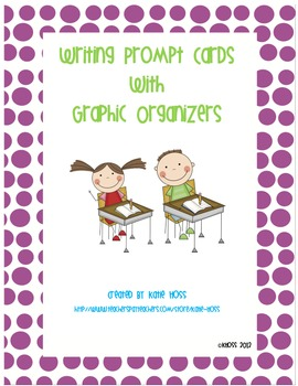 Creative Writing Prompts with Graphic Organizers