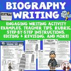 Creative Writing Student Biography Unit with Lesson Plan A