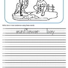 Creative Writing Worksheets