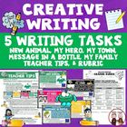 Creative writing activity: Create a new animal (Common Core)