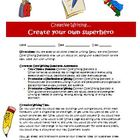 Creative writing activity: Create a new superpower (Common Core)