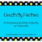 Creativity Posters: Defining fluency, flexibility, origina