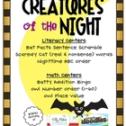 Creatures of the Night {Math &amp; Literacy Centers}