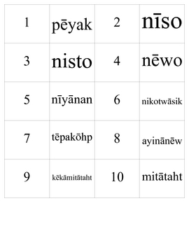 Cree numbers 1-100 memory game