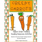 Creepy Carrots - vocabulary extension and creepy vegie wri