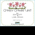 Creepy Crawler Unit (bug/insect math and literacy)