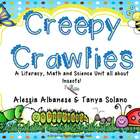Creepy Crawlies - Literacy, Math and Science Activities al
