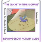 Cricket in Times Square Reading Group Activity guide