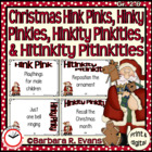 Critical Thinking -- Christmas Hink Pinks, et al