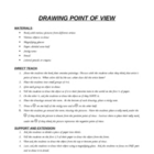 Critical Thinking-Drawing Point of View