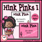 Critical Thinking Kids Love -- Hink Pinks I