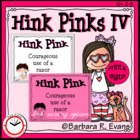 Critical Thinking Kids Love -- Hink Pinks IV