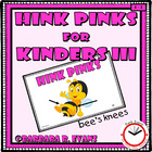Critical Thinking Kids Love -- Hink Pinks for Kinders III