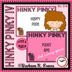 Critical Thinking Kids Love -- Hinky Pinky IV
