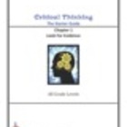 Critical Thinking Starter Guide-Chapter 1  Look For Evidence