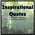 Critical Thinking and Figurative Language with Inspiration