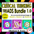 Critical Thinking with TRIADS I, II, III Bundle