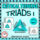 Critical Thinking with Triads I