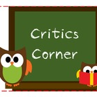 Critics Corner (Reading/Book Reviews)