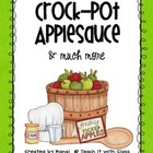 Crock-Pot Applesauce & More