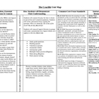 Crucible Unit Outline & Map - COMMON CORE ALIGNED!