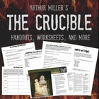 Crucible Unit Plan, Worksheets, Handouts, and More! - COMM